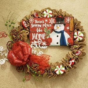 """Other - """"50% OFF SALE"""" HAND CRAFTED CHRISTMAS WREATH"""